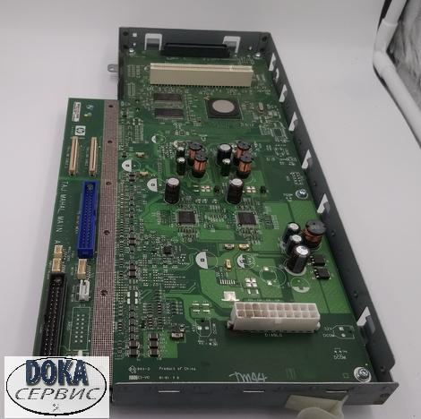 CK837-67007 | CK834-67001 Main PCA with Power Supply Unit (PSU) Assembly HP DesignJet T620|T1120 24 inch Главная плата