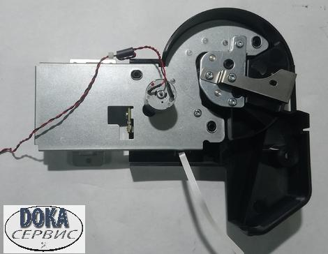 CQ890-67051 Left Roll Support with Rewinder and Cover (Basic) Левая опора рулона